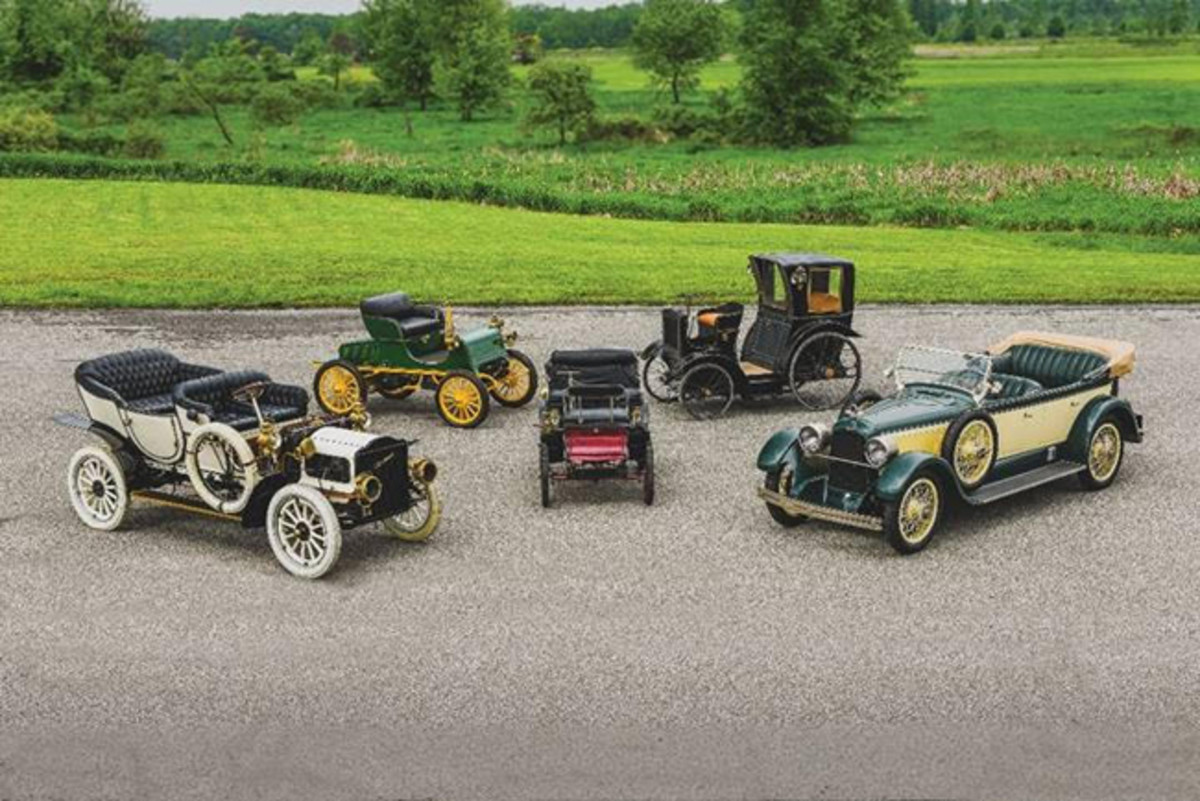 A snapshot of highlights from the Merrick Auto Museum Collection (Corey Escobar © 2019 Courtesy of RM Auctions)