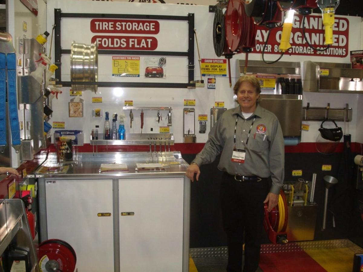 Jody Schmeisser created the Get Organized Garage.