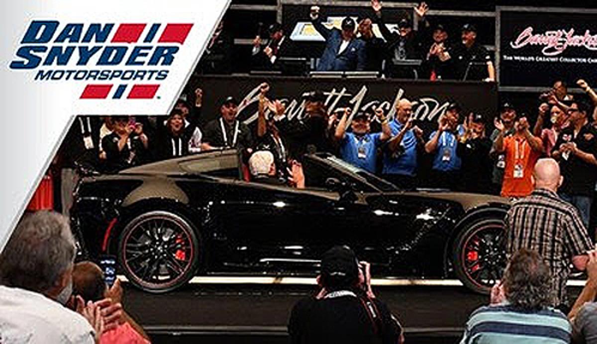 inLighten CEO Dan Snyder Motorsports. Photo - PRNewswire
