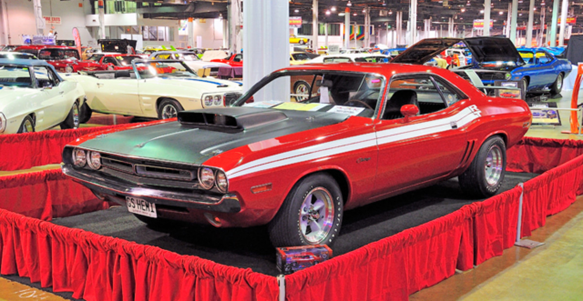 "Grand Spaulding Dodge ""Mr. Norm"" prepared 1971 Hemi Challenger display."