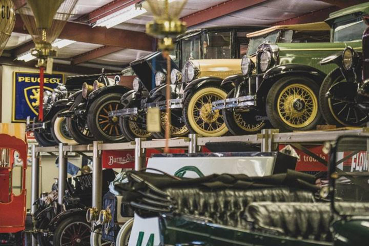 A look inside the Merrick Auto Museum (Darin Schnabel © 2019 Courtesy of RM Auctions)