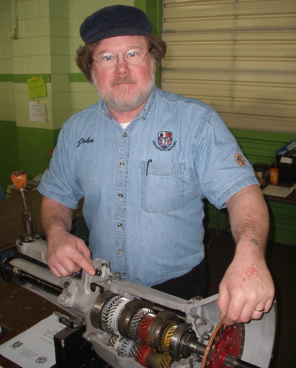 John Twist is getting ready for his 30th year of wintertime restoration seminars at his British car repair shop University Motors in Grand Rapids, Mich.