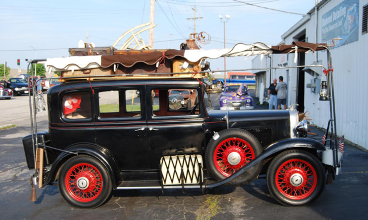 Everyone who saw this Model A was looking for the Beverly Hillbillies.