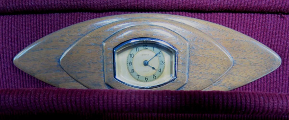 Pierce-Arrow Clock -Wisconsin Automotive Museum