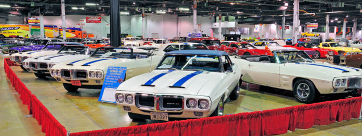 Pontiac Motor Division produced eight 1969 Trans Am Convertibles. Six of these rare gems appeared together at the 2012 Muscle Car and Corvette Nationals.