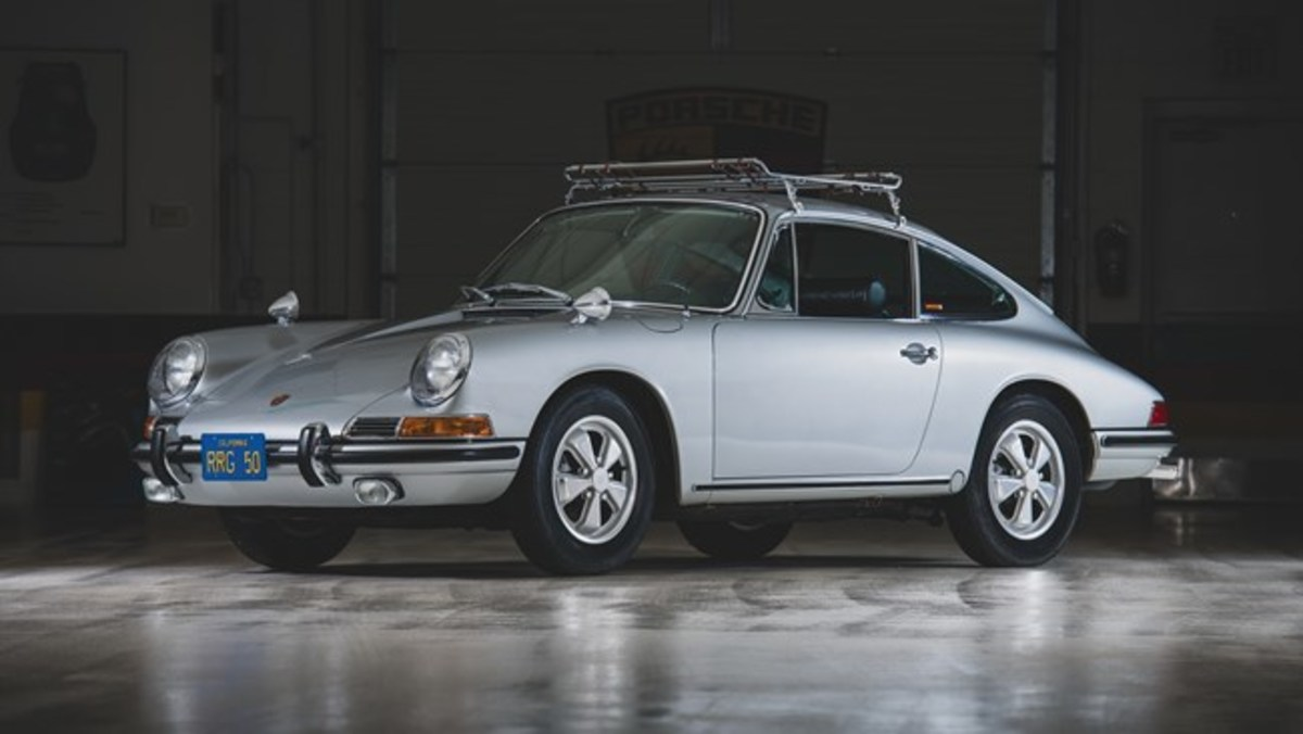 1967 Porsche 911 S Coupe - Chassis No. 305860 S Sold for $335,000. Photo - RM Sotheby's