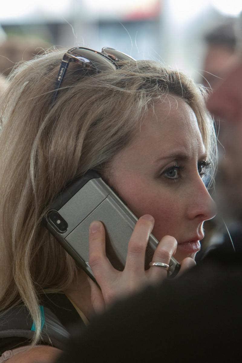 Samantha Kiernan, Sean's wife