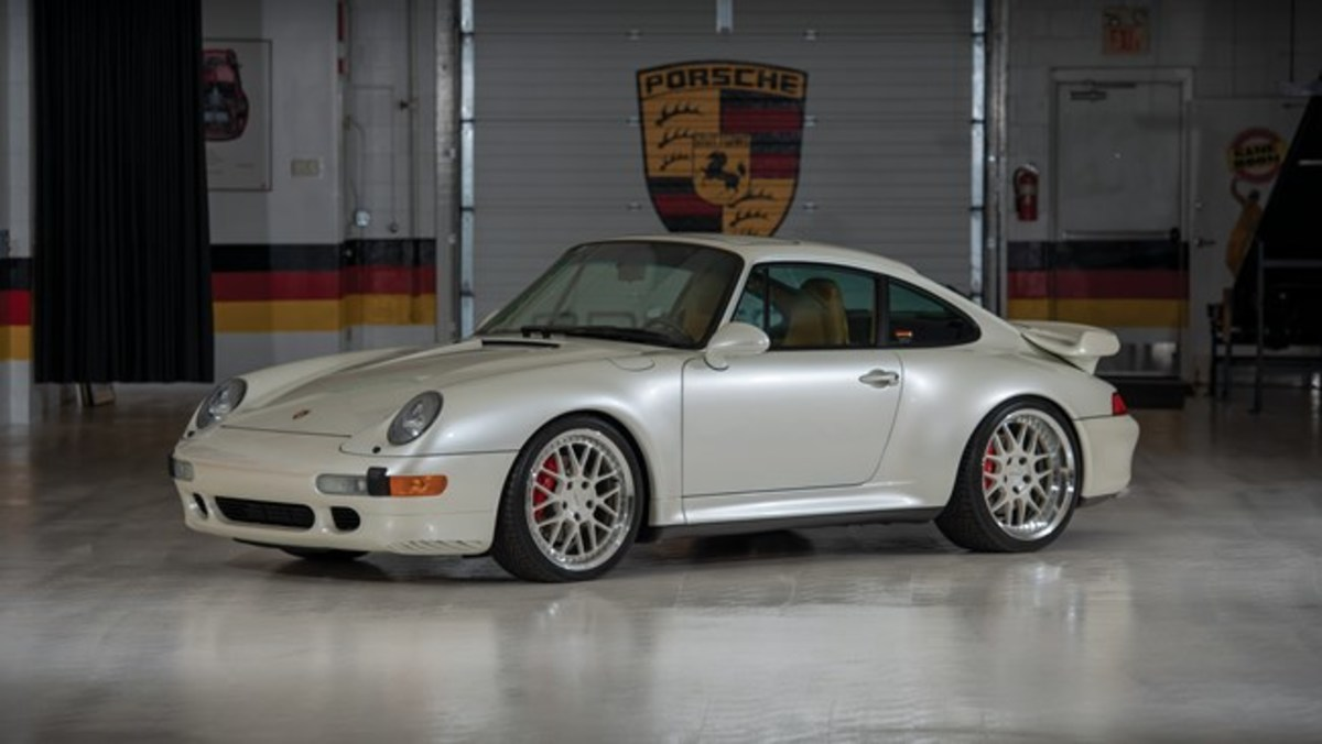 1997 Porsche 911 Turbo Coupe - Chassis No. WP0AC2996VS375198 Sold for $368,000. Photo - RM Sotheby's