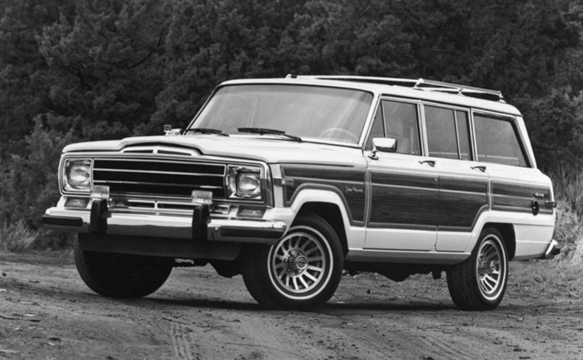 The Wagoneer line was getting long in the tooth by the time this 1990 Grand Wagoneer rolled off the assembly line. The model run finally ended a year later, ending a 28-year run as a flagship of the Jeep menu.