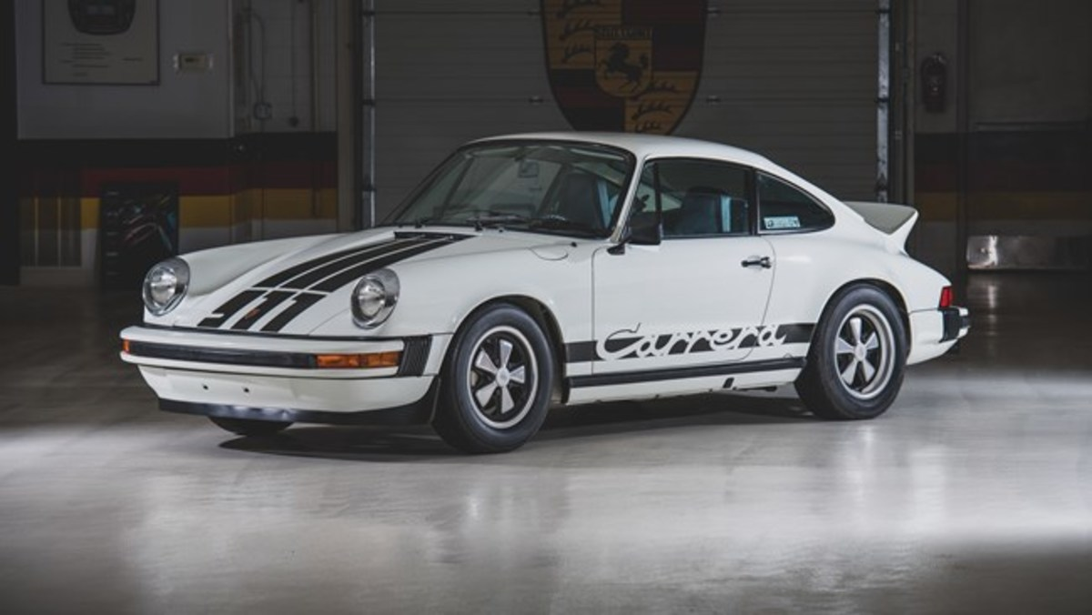 1974 Porsche 911 Carrera Coupe - Chassis No. 9114400143 Sold for $168,000. Photo - RM Sotheby's