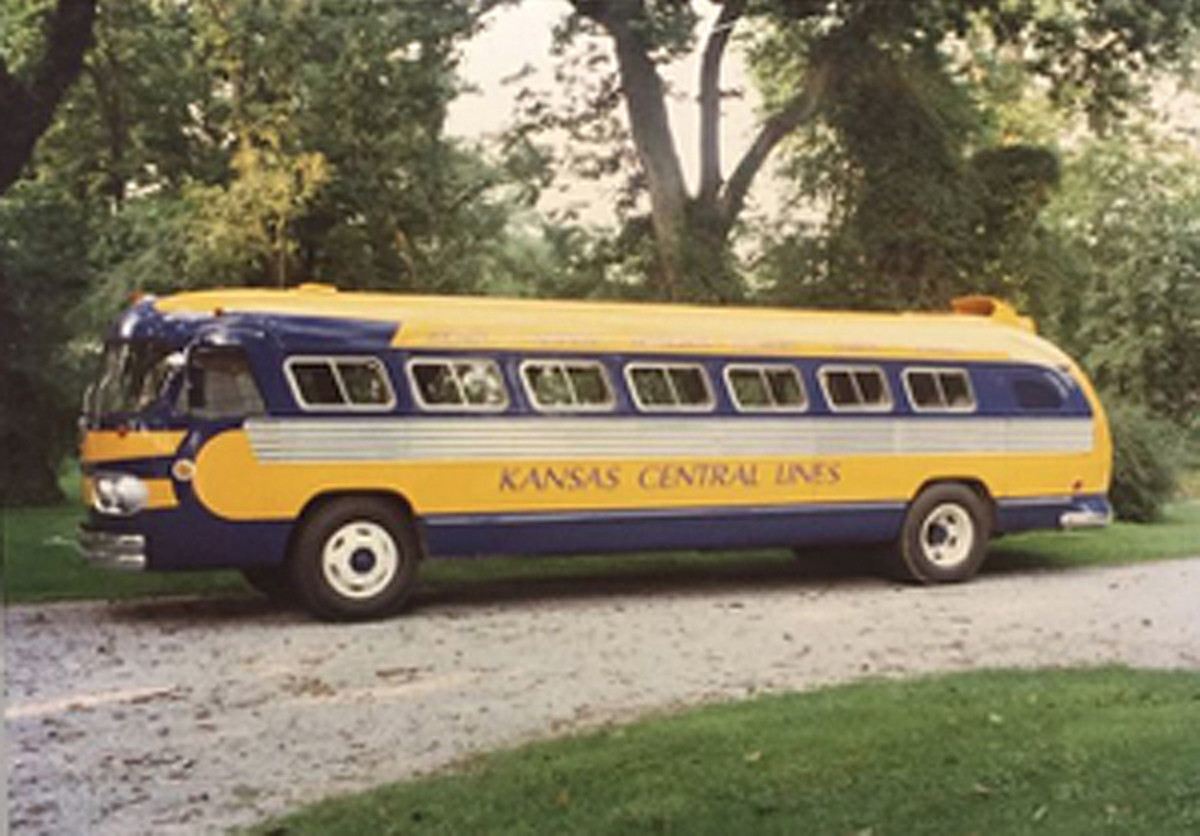 Kansas Central Lines Bus