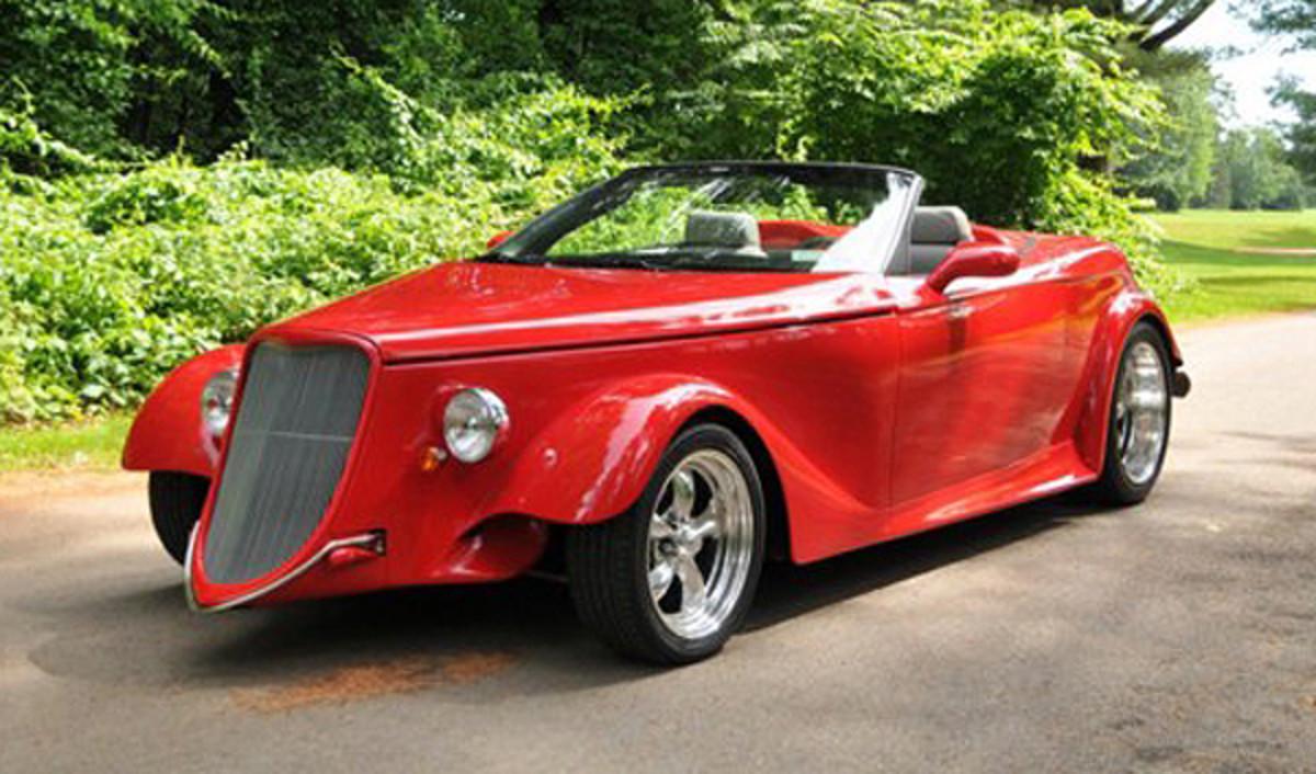 2008 Ford Ravenhawk Photo - Saratoga Automobile Museum