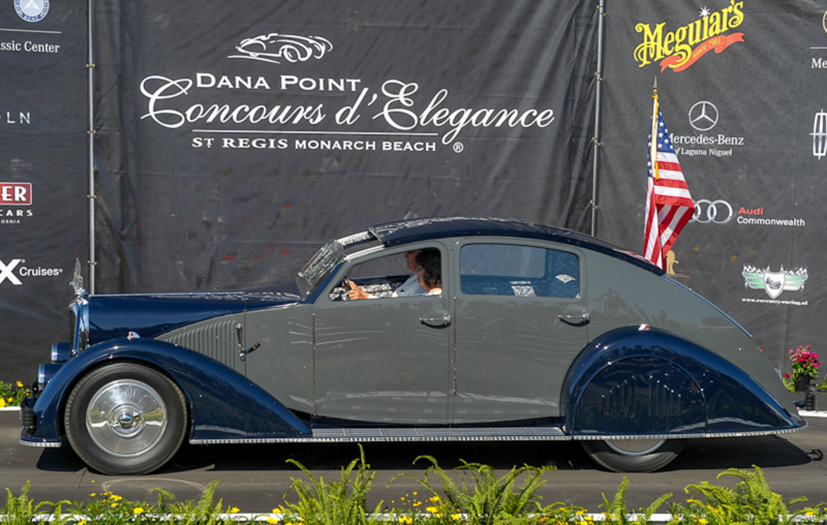 The Best of Show for 2012 was this 1934 Voisin C-25 Aerodyne owned by Peter and Merle Mullin, Oxnard, Calif.