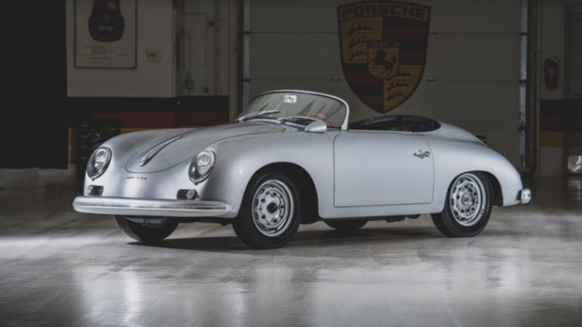 1957 Porsche 356 A Carrera GT Speedster by Reutter - Chassis No. 83622 Sold for $1,380,000. Photo - RM Sotheby's