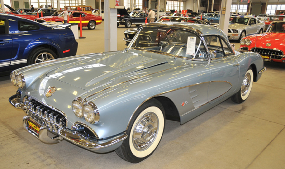 A Silver Blue specimen with a hardtop went for $140,000.
