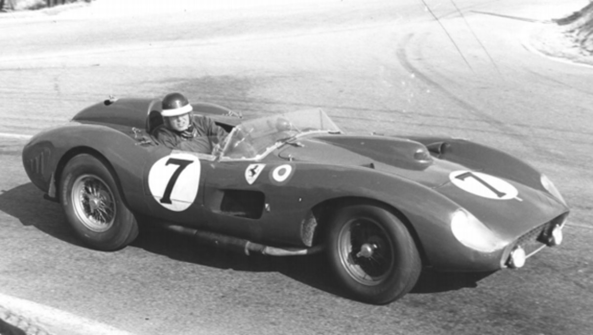 1957 Ferrari 335 S Spider Scaglietti, chassis 0674, Mike Hawthorn / Luigi Musso, 24 Heures du Mans 1957 © Rights reserved