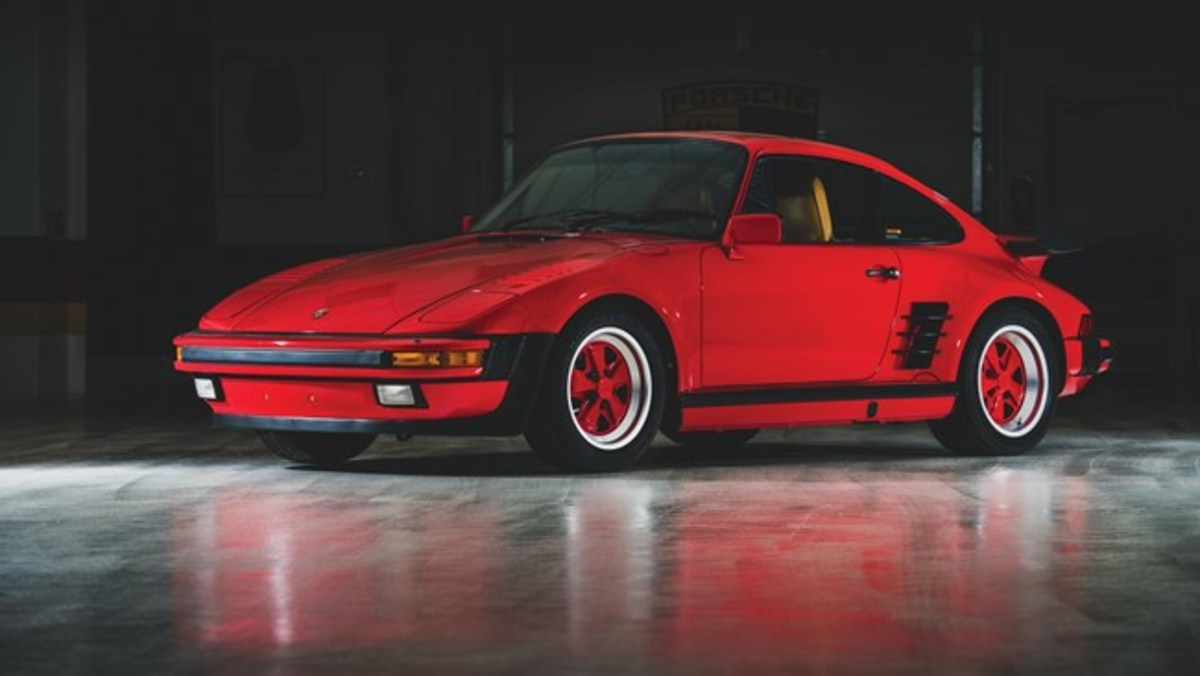 1988 Porsche 911 Turbo 'Flat-Nose' Coupe - Chassis No. WP0JB0936JS050662 Sold for $193,200. Photo - RM Sotheby's
