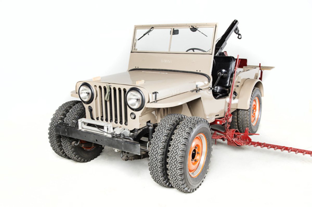 Omix-ADA's 1946 Willys CJ-2A is one of six rare, historic civilian model Jeeps from Omix-ADA's recently expanded Jeep Collection that will be showcased at this year's SEMA Show in Las Vegas. Photo Credit: Omix-ADA