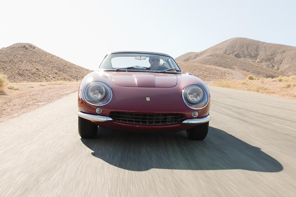 Steve McQueen's Ferrari 275GTB/4 now on display at the Petersen Automotive Museum in Los Angeles.