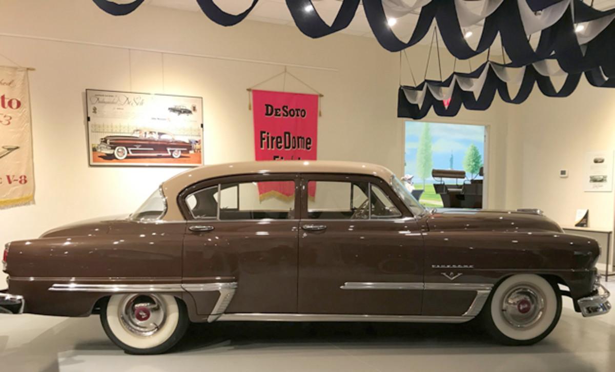 1953 DeSoto Firedome. Photo - AACA Museum, Inc.