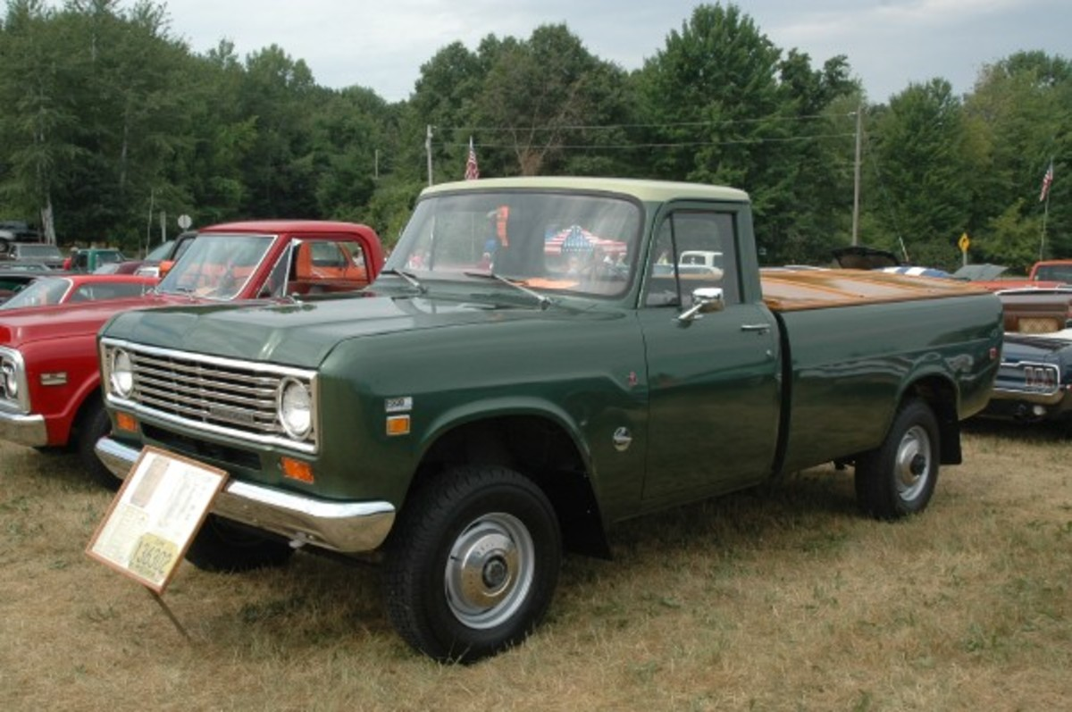 Good, old International trucks from the 1970s are a rare sight in the rust belt, but the Sperl family's 1975 200-Series 4x4 is a very fine example.