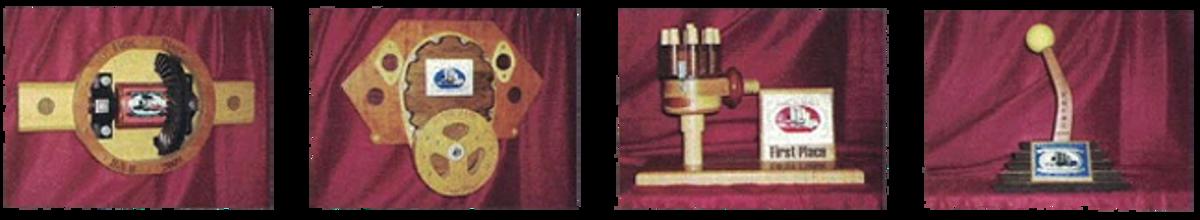 Rods-N-Relics' unique wooden trophies
