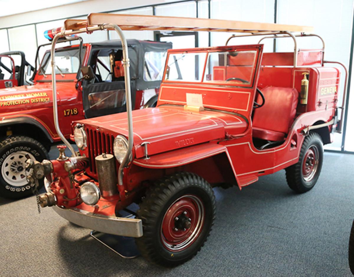 1947 Willys CJ-2A Fire Truck