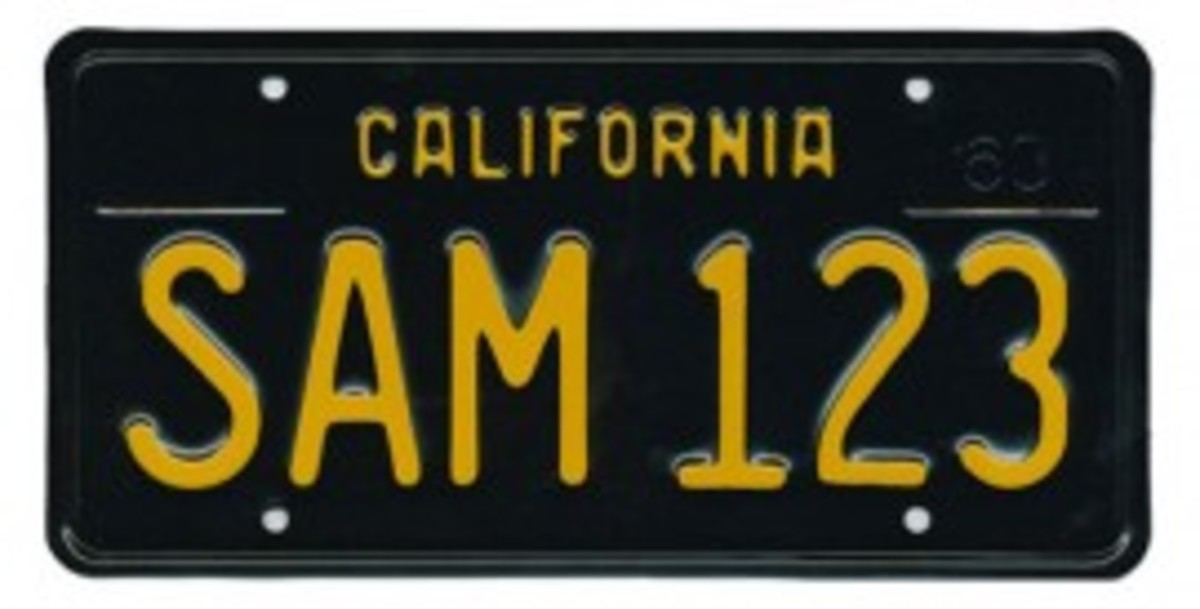 Californians have placed enough orders to reinstate black plates for collector cars.