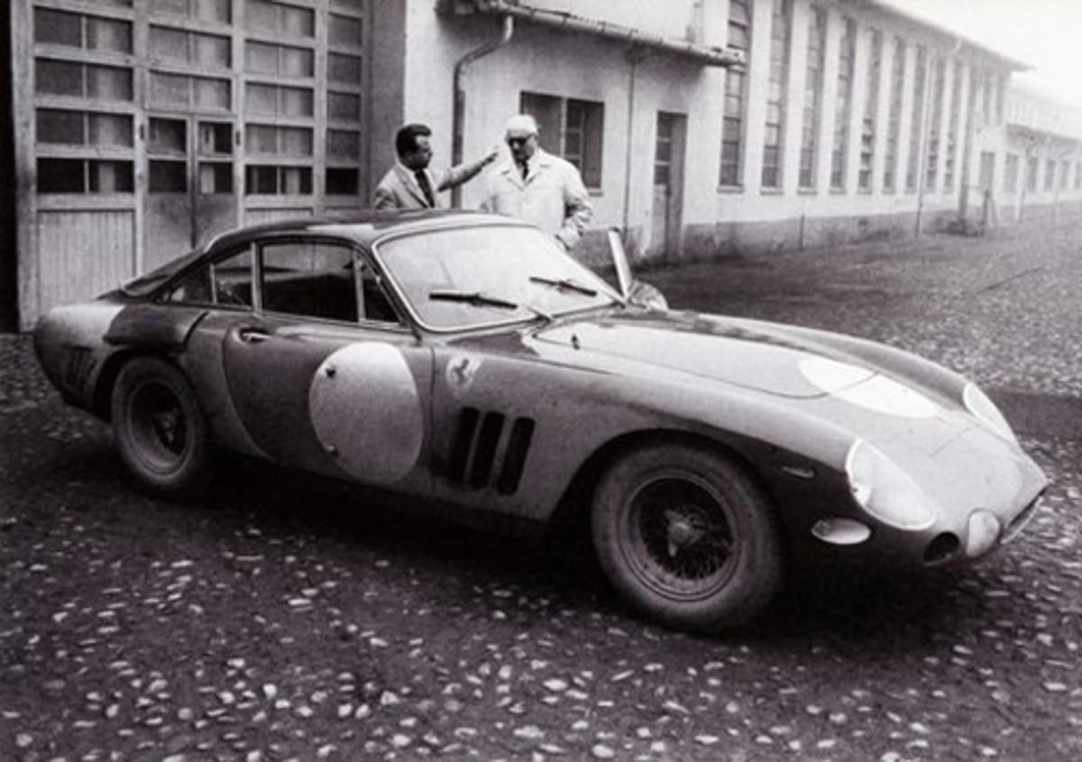 Ferrari 330 LMB #4381SA 06-06 with Enzo