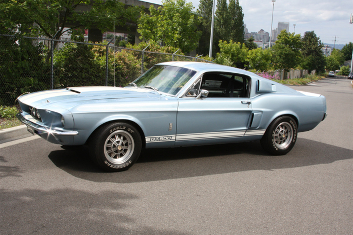 1967 Ford Shelby GT500 Fastback Cobra