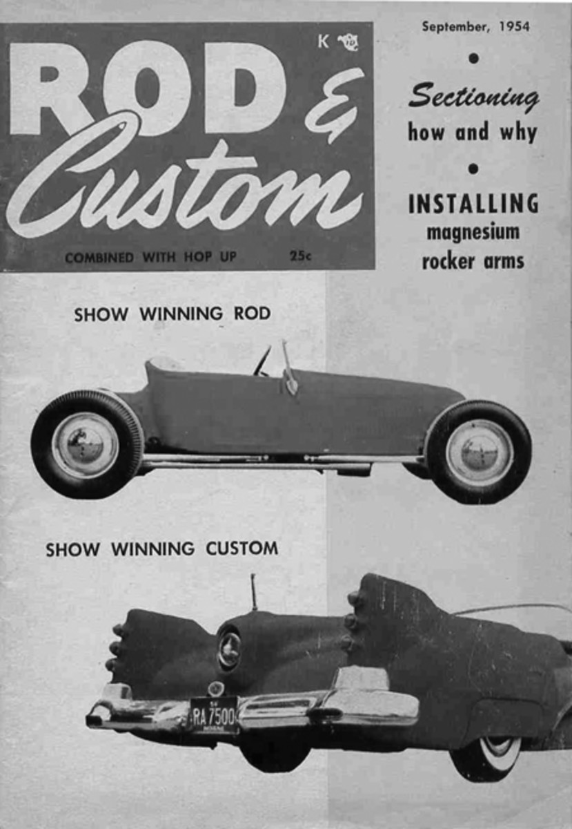 Jerry McKenzie's '27 T won first place in the hot rod class at the fifth annual Indianapolis Custom Auto Show in June 1954. It was featured on the September cover of Rod & Custom, that year. In those days, it was rare for a car built outside of California to be featured on the cover of a West Coast monthly. (Ken Gross Archives)