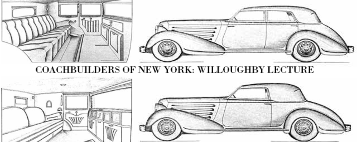 Charles Flinchbaugh will offer insight into coachbuilder Willoughby of Utica, New York, in a lecture at the Saratoga Automobile Museum on Feb. 4.