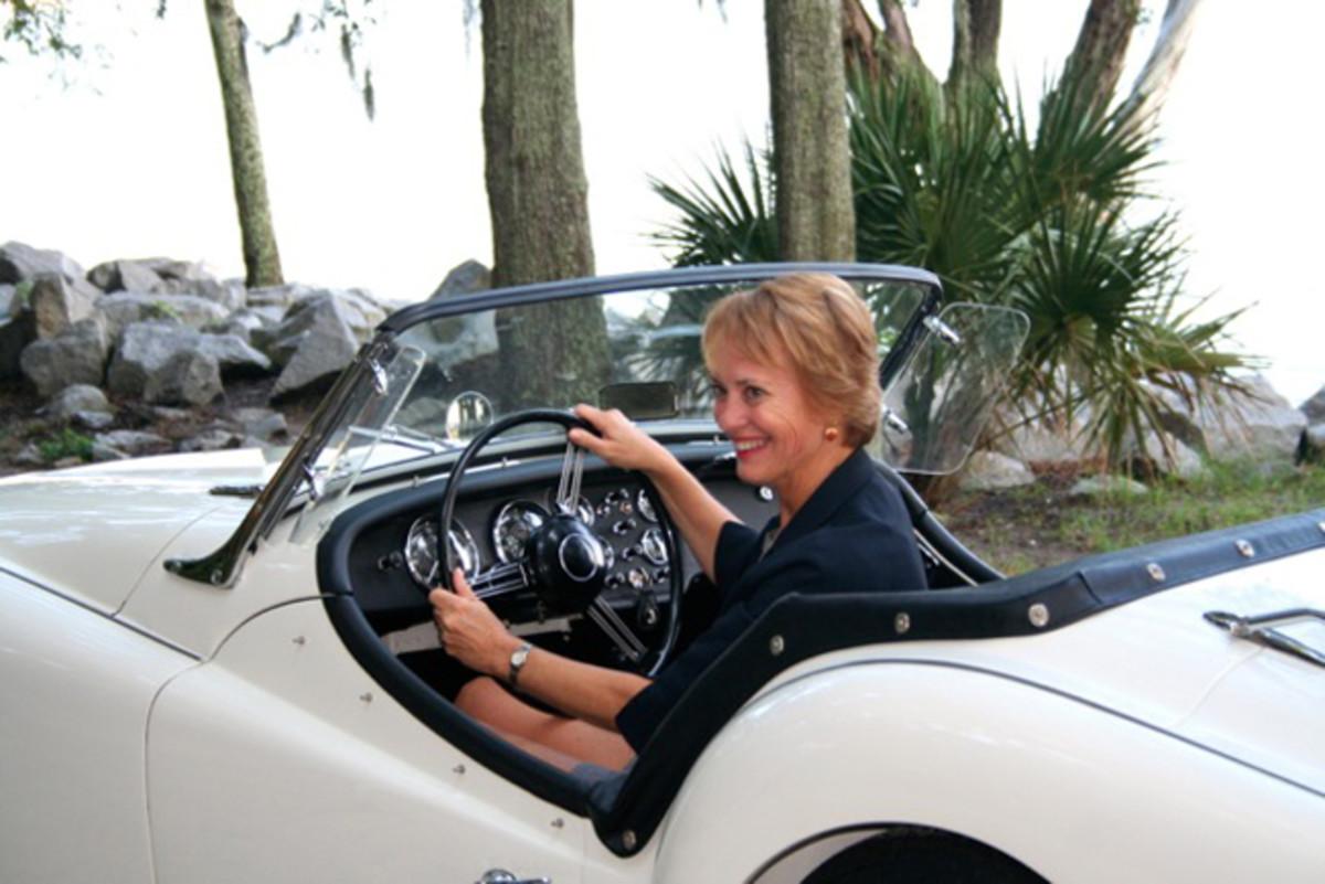 Carolyn Vanagel. Photo - Hilton Head Island Concours d'Elegance