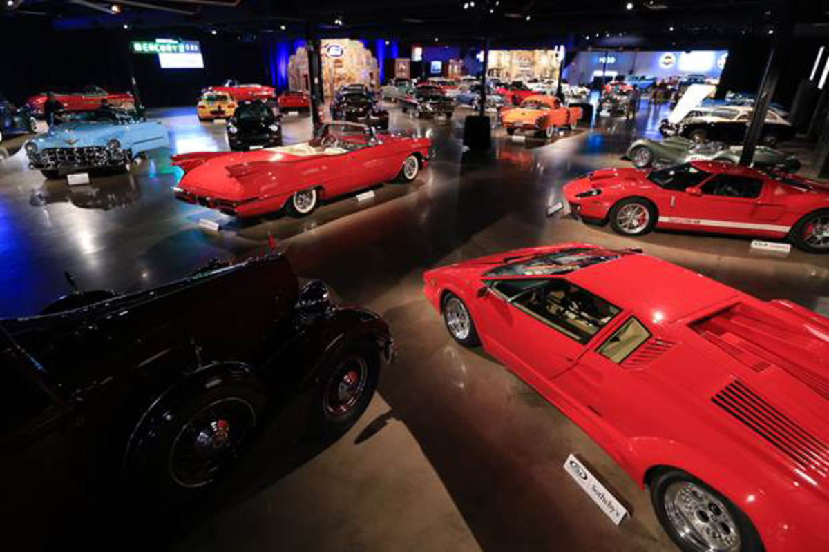 The magnificent Andrews Collection on preview ahead of its May 2 sale in Fort Worth, Texas (credit: Ben Majors © 2015 courtesy RM Sotheby's)