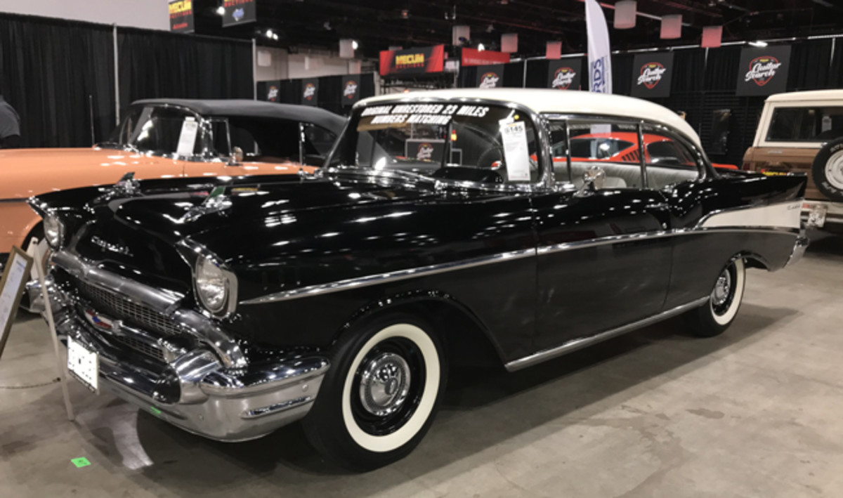 This 23-mile 1957 Chevrolet Two-Ten Sport Coupe may be the lowest-mileage original '57 on the planet. It was sold at Mecum Chicago 2019.