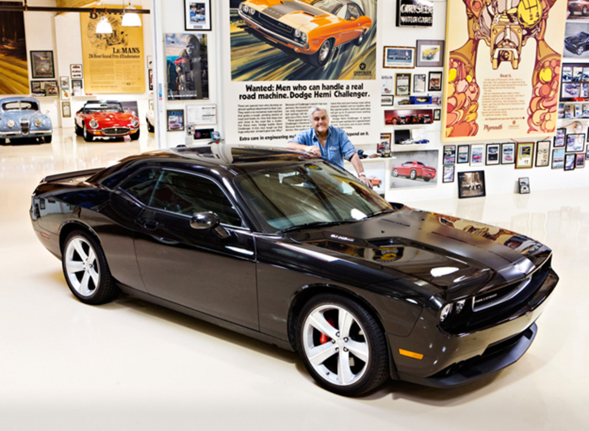 Jay Leno's 2008 Dodge Challenger SRT8, Estimate: $50,000-$80,000 (Image copyright and courtesy of Gooding & Company. Photo by Brian Henniker)