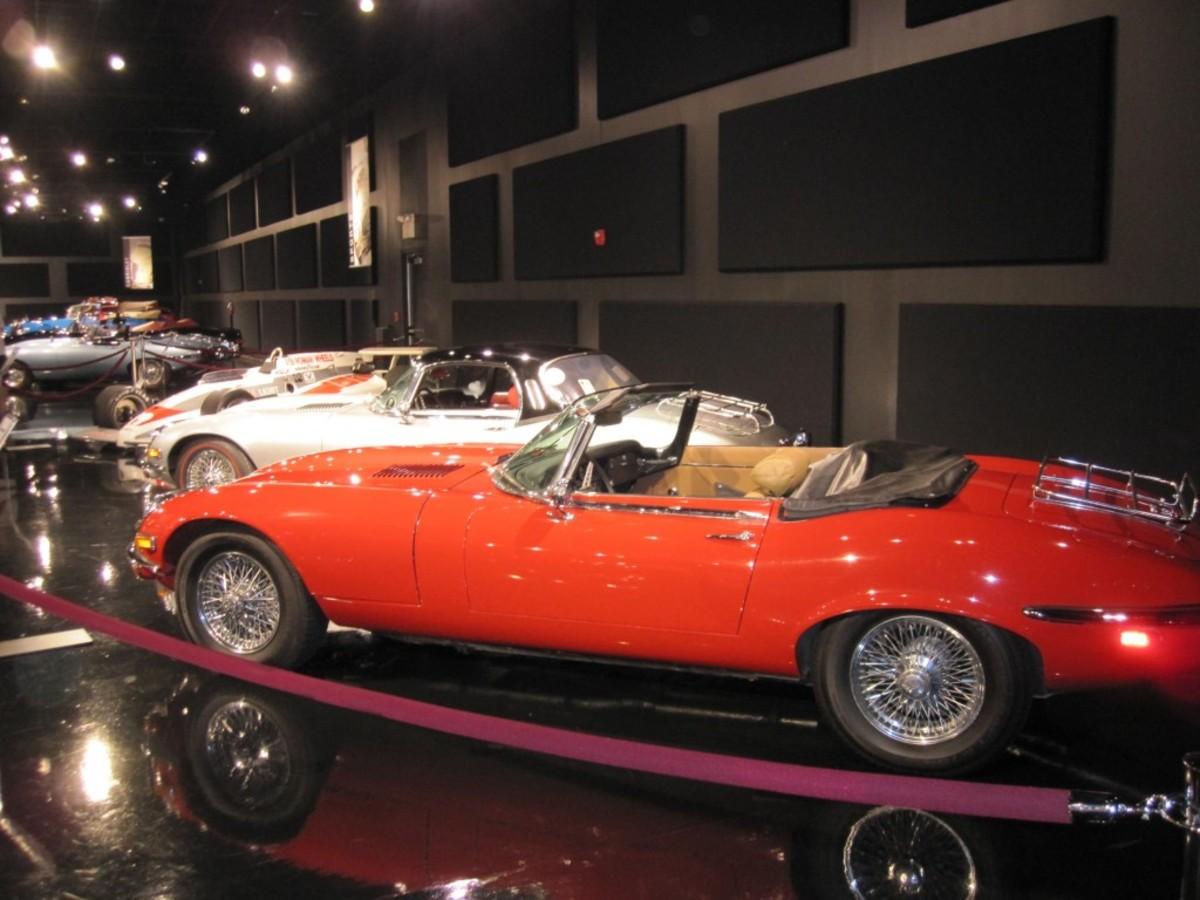 KAM - All Jaguar Auto Show - Visiting Collection-Mc Closkey