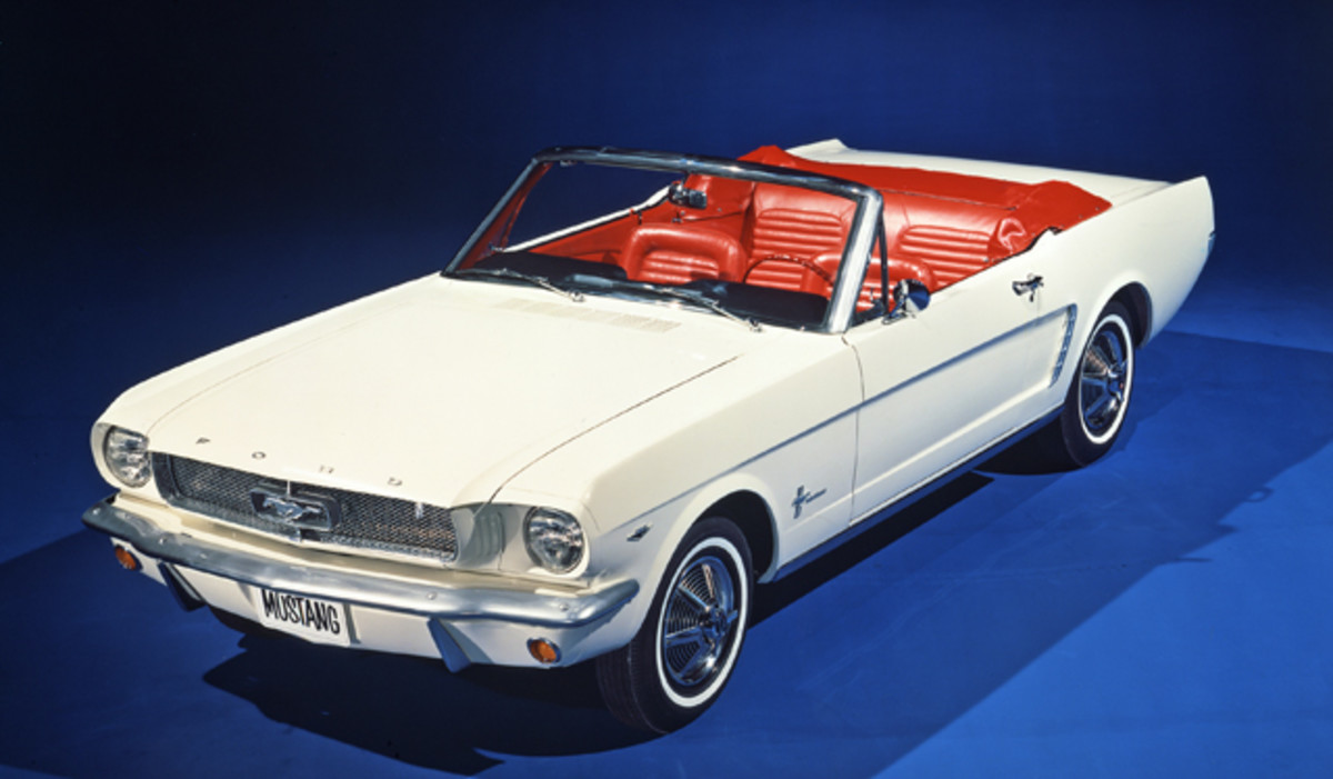 Pre-production 1965 Mustang (Courtesy Ford Motor Co.)