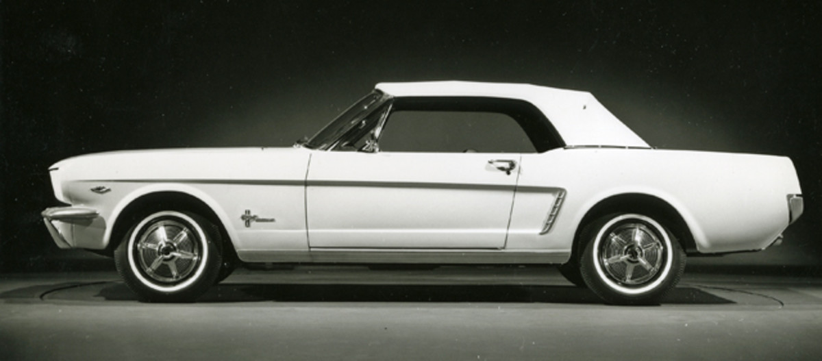 Production 1965 Mustang. (Courtesy Ford Motor Co.)