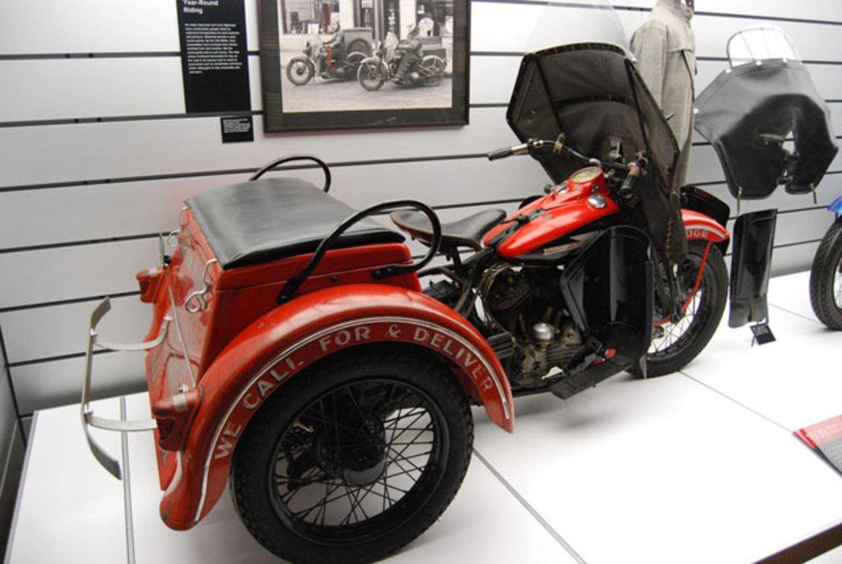 Stanton Motors used this orange Servi-Car.
