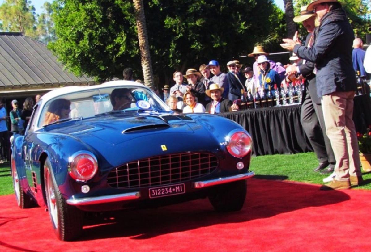 1956 Ferrari 250 GT Zagato - Larry Edsall photo
