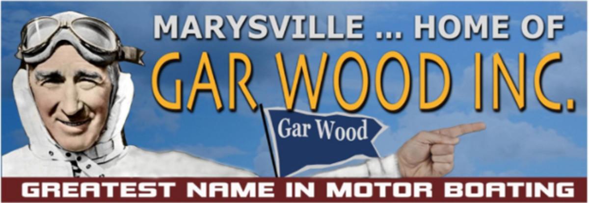 Gar Wood billboard