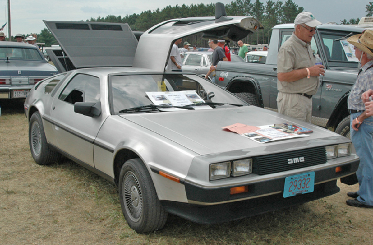 """Buyers looking to go """"Back to the Future"""" again could pick up this 1981 DeLorean with just 8,000 miles for $28,500."""