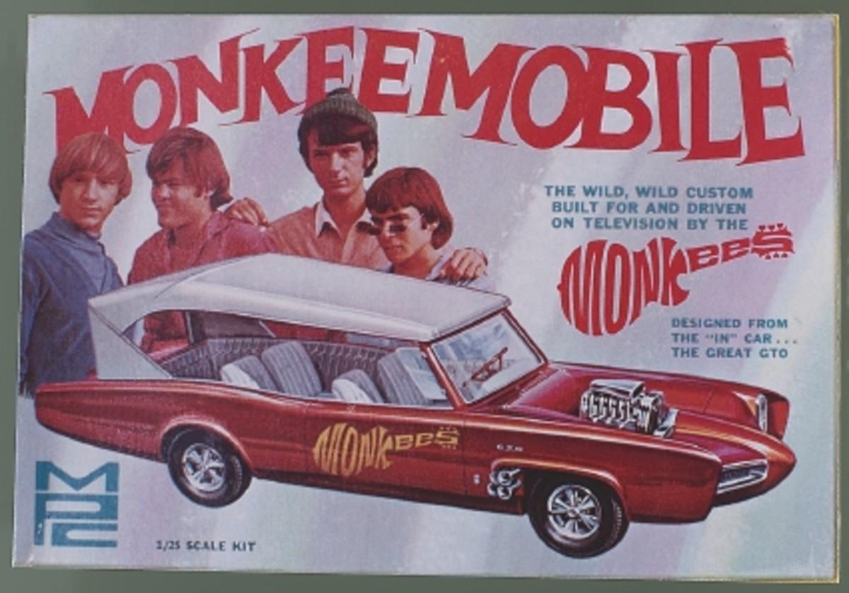 The MPC Monkeemobile model kit.