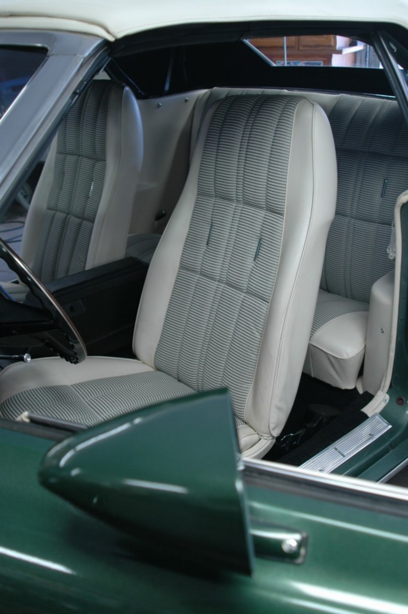 The detailed interior.