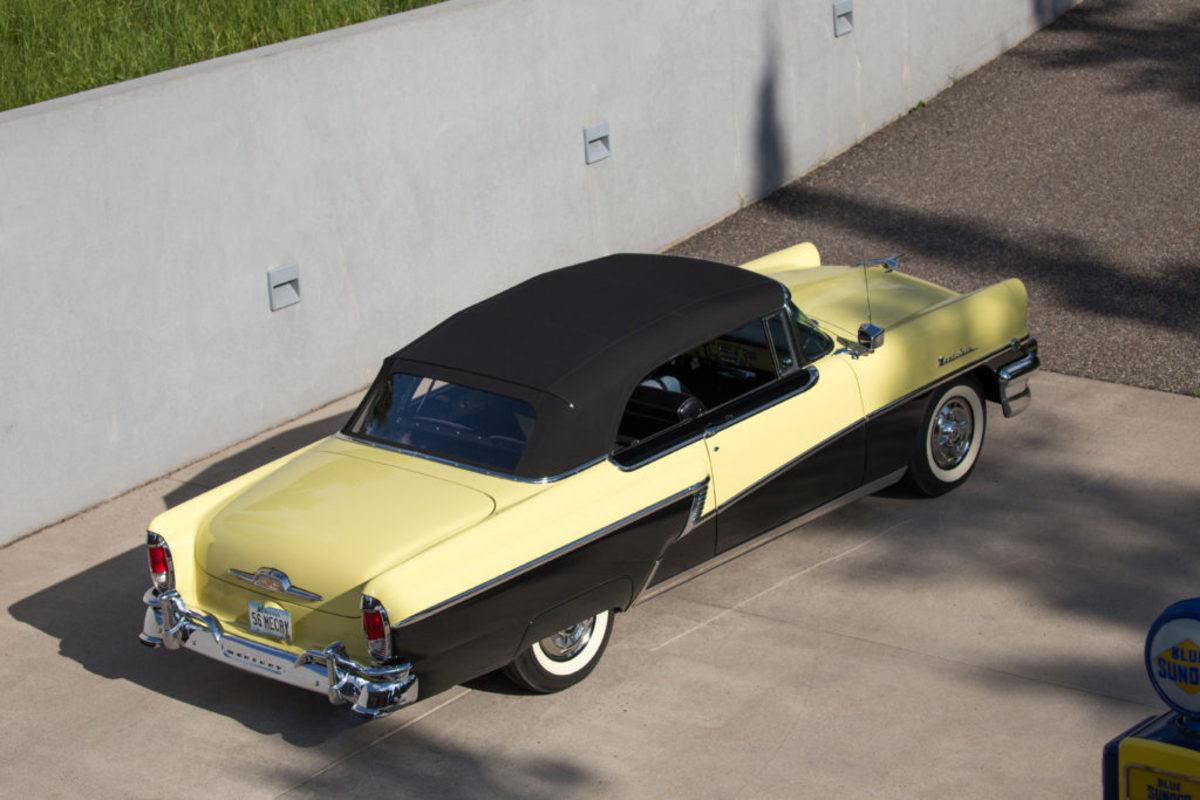 1956 Mercury Montclair convertible. Peak Photography © 2017 Auctions America