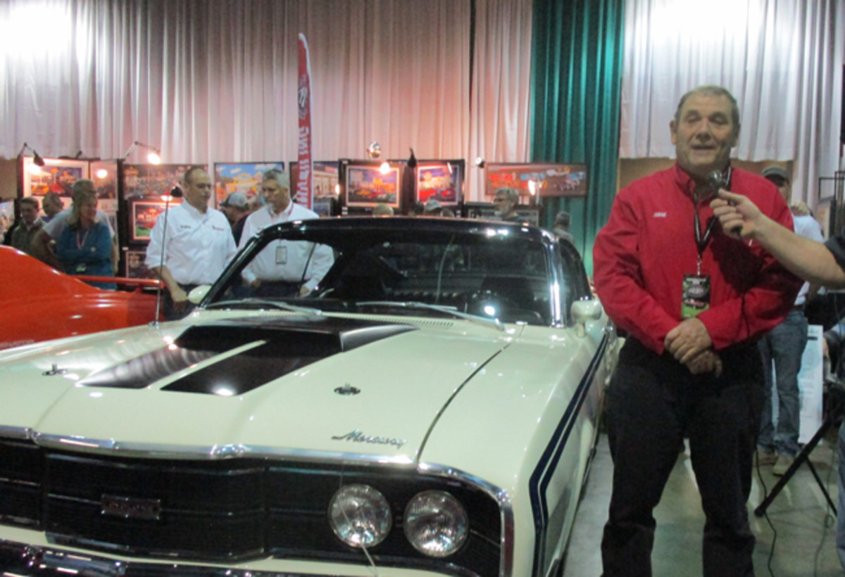 This Mercury was one of the cars showcased in several Premier Unveilings.