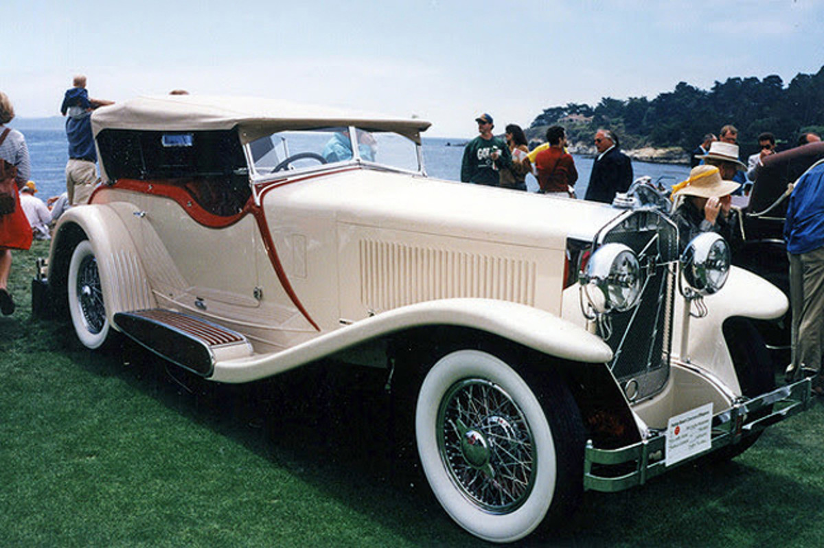 1930 Isotta Fraschini Tipo 8A SS Castagna Special Sports Tourer