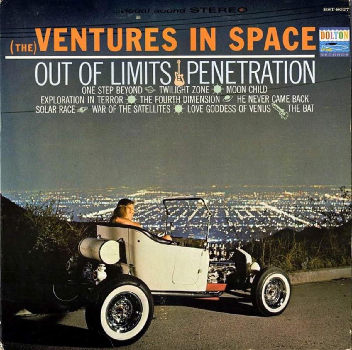 """""""Ventures in Space"""" album cover"""