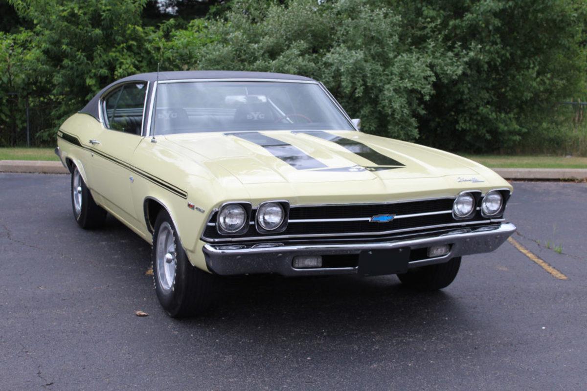 1969 Chevrolet Yenko Chevelle. Courtesy of Auctions America